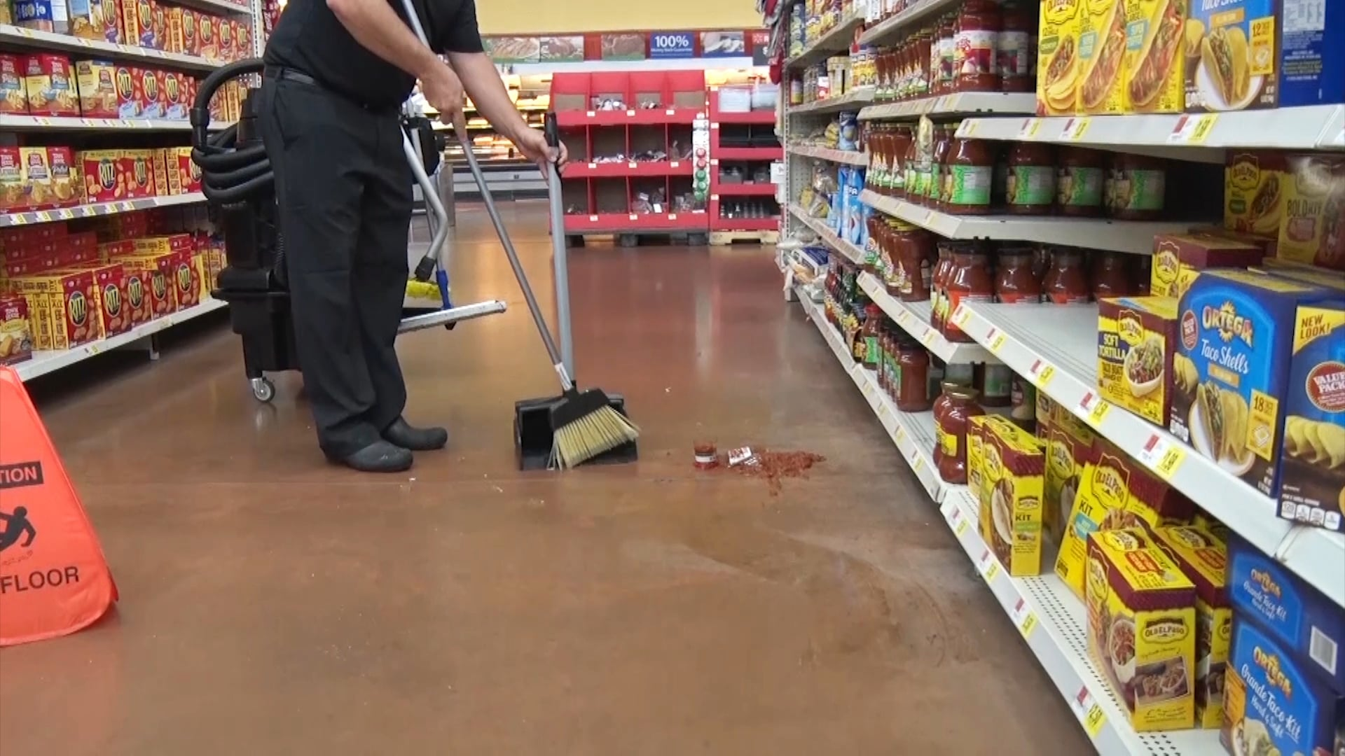 Cleaning Spills with OmniFlex