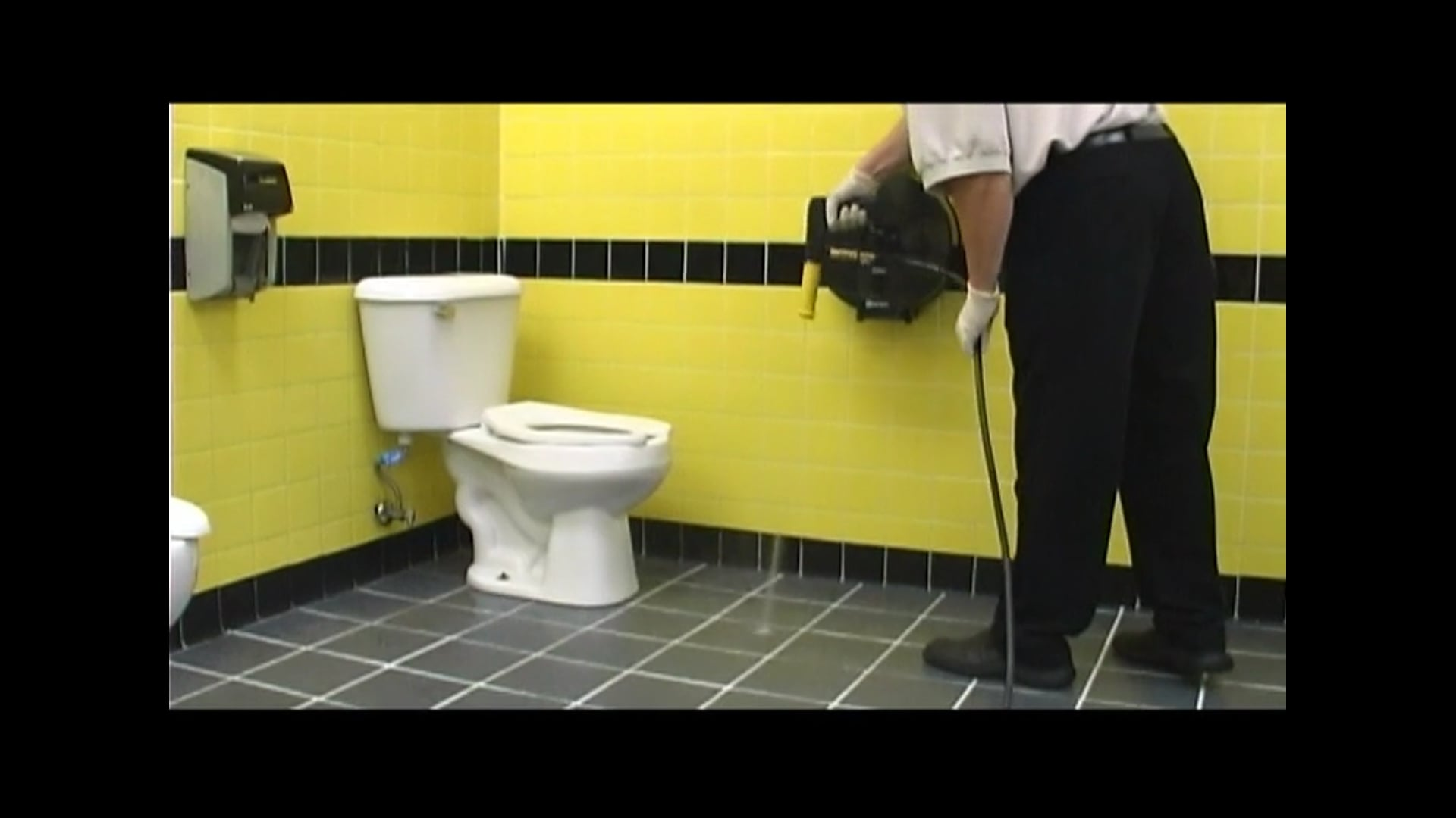Rapid Restroom Cleaning