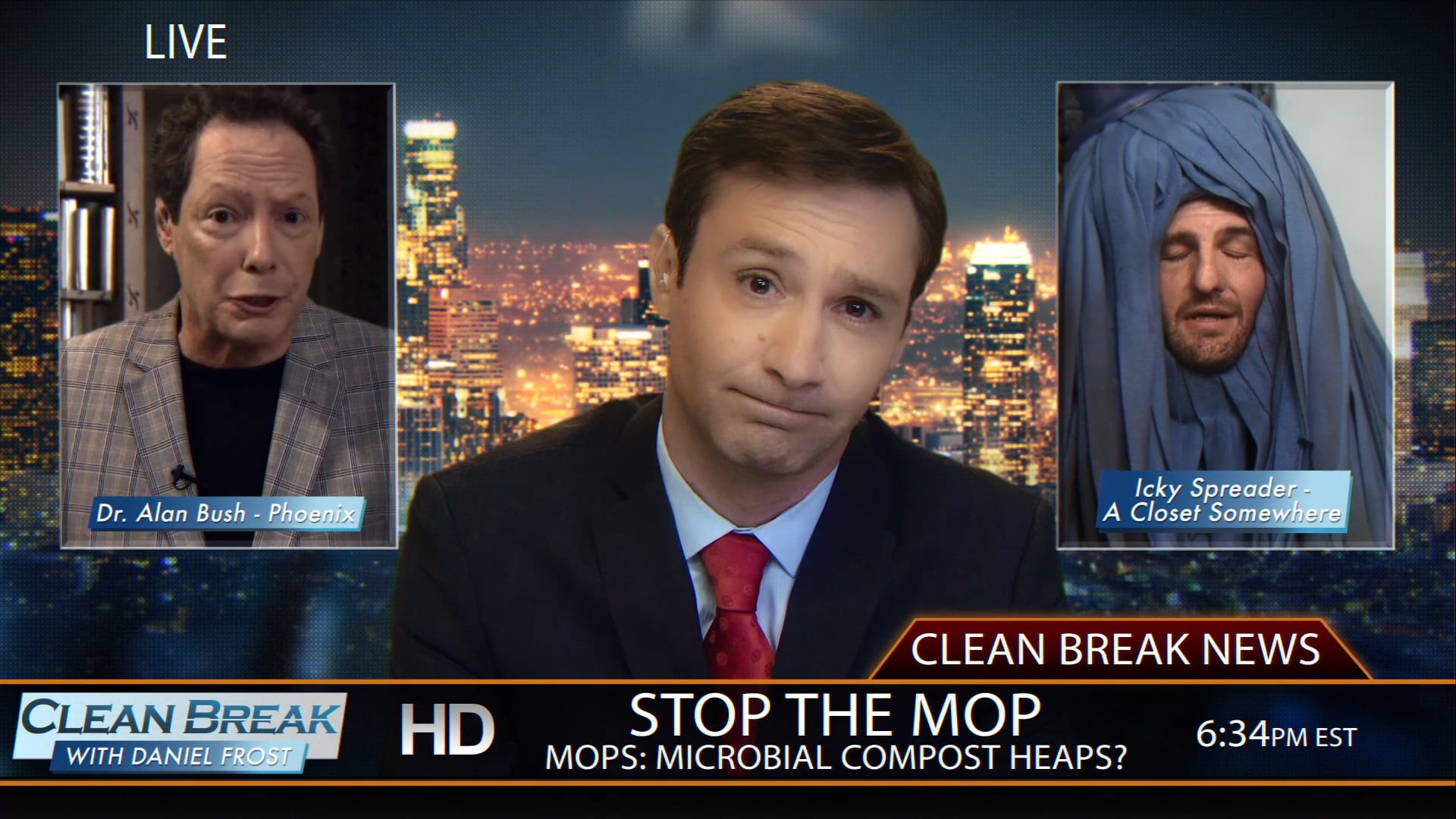 Clean Break with Daniel Frost – Mops Microbial Compost Heaps?