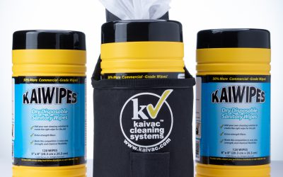 KaiWipes – 3 Canisters with Holster