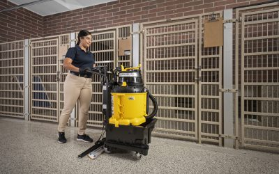 Kennel Cleaning with AutoVac