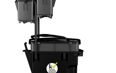 Trolley Bucket with Bins – Right Profile