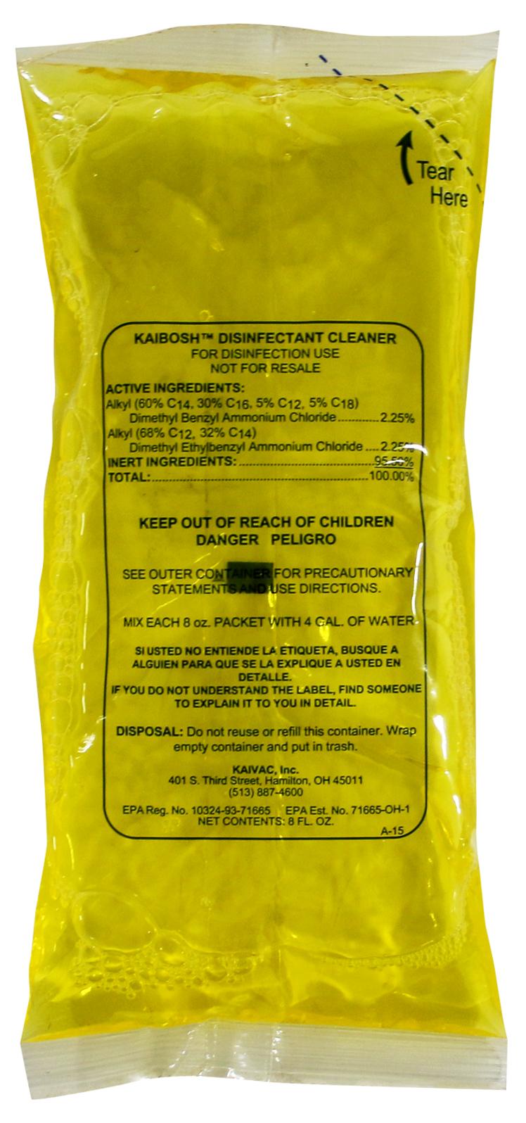 Kaivac KaiBosh Chemical
