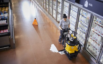 AutoVac – Spill Cleanup – Grocery