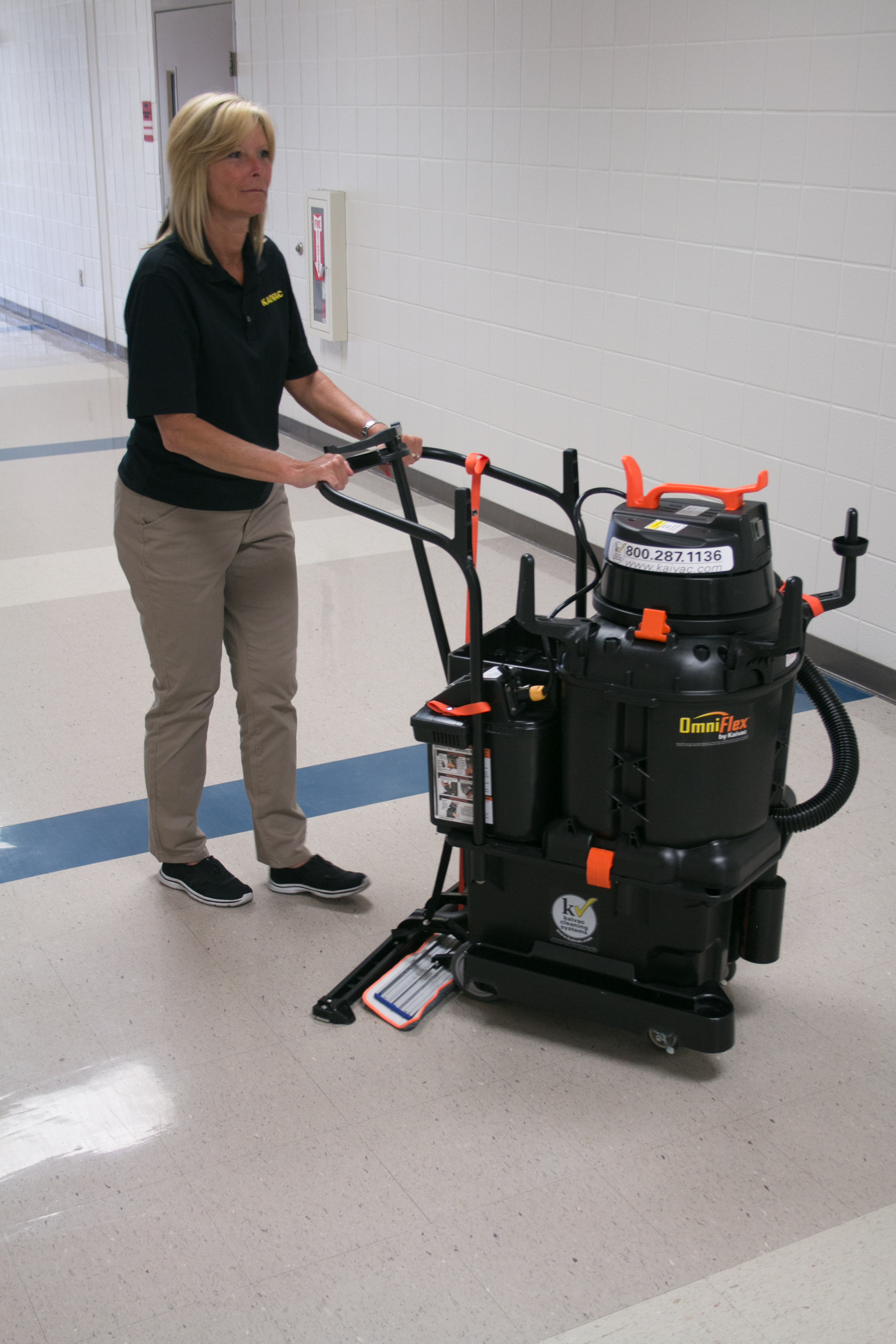 Kaivac AutoVac - Wide Area Floor Cleaning