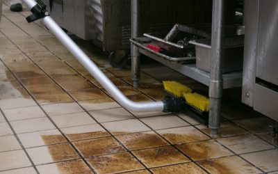 Dispense-and-Vac  – Vacuuming Extreme Soil Under Fixtures