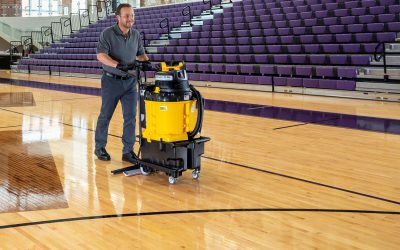 AutoVac – Gym Floor Cleaning – close-up – 025-1a