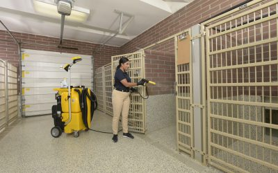 NTC 1750 – Kennel Cleaning – Spraying