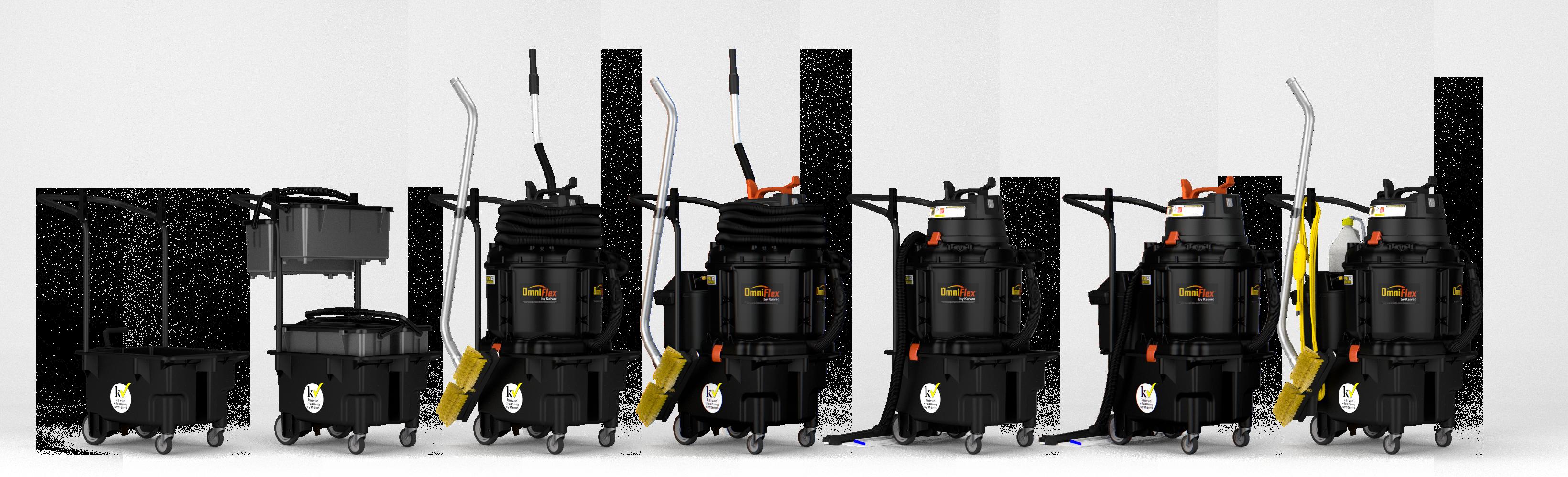 Kaivac OmniFlex Lineup