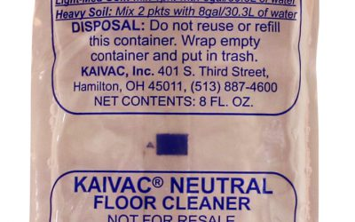 Neutral Floor Cleaner Chemical – Packet
