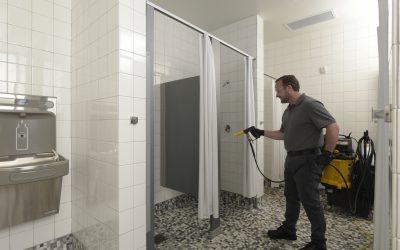 Spray and Vac – Shower Spraying