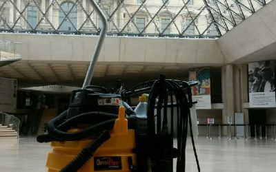 Spray-and-Vac OSV – at the Louvre