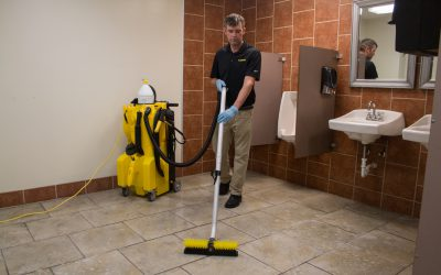 NTC 1250 – Restroom Floor Vacuuming – 5205