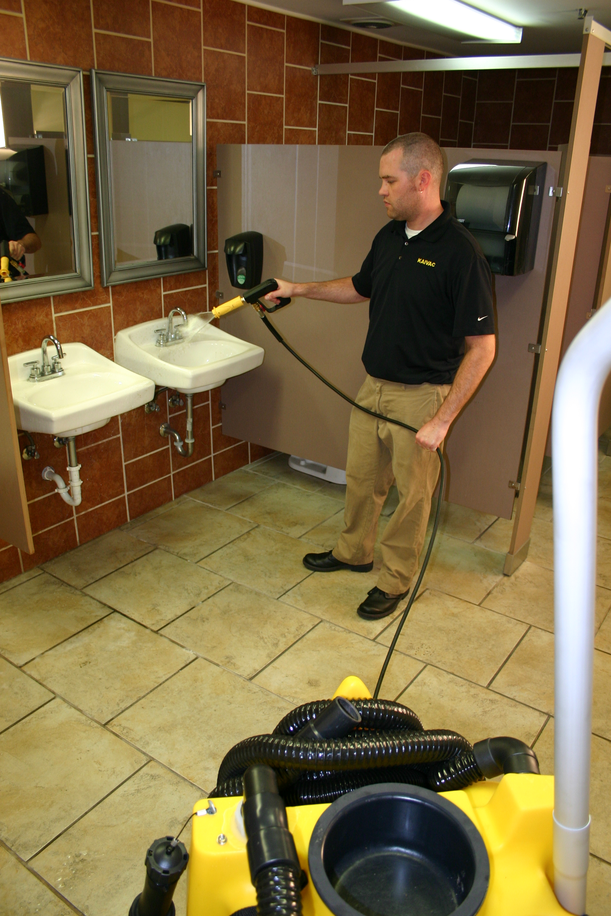 NTC Sink Spraying