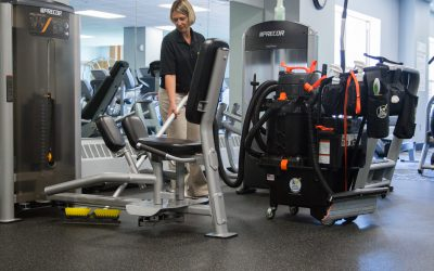 SUV – Fitness Center Floor Cleaning 4583