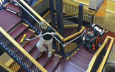 SUV – Stairwell Cleaning