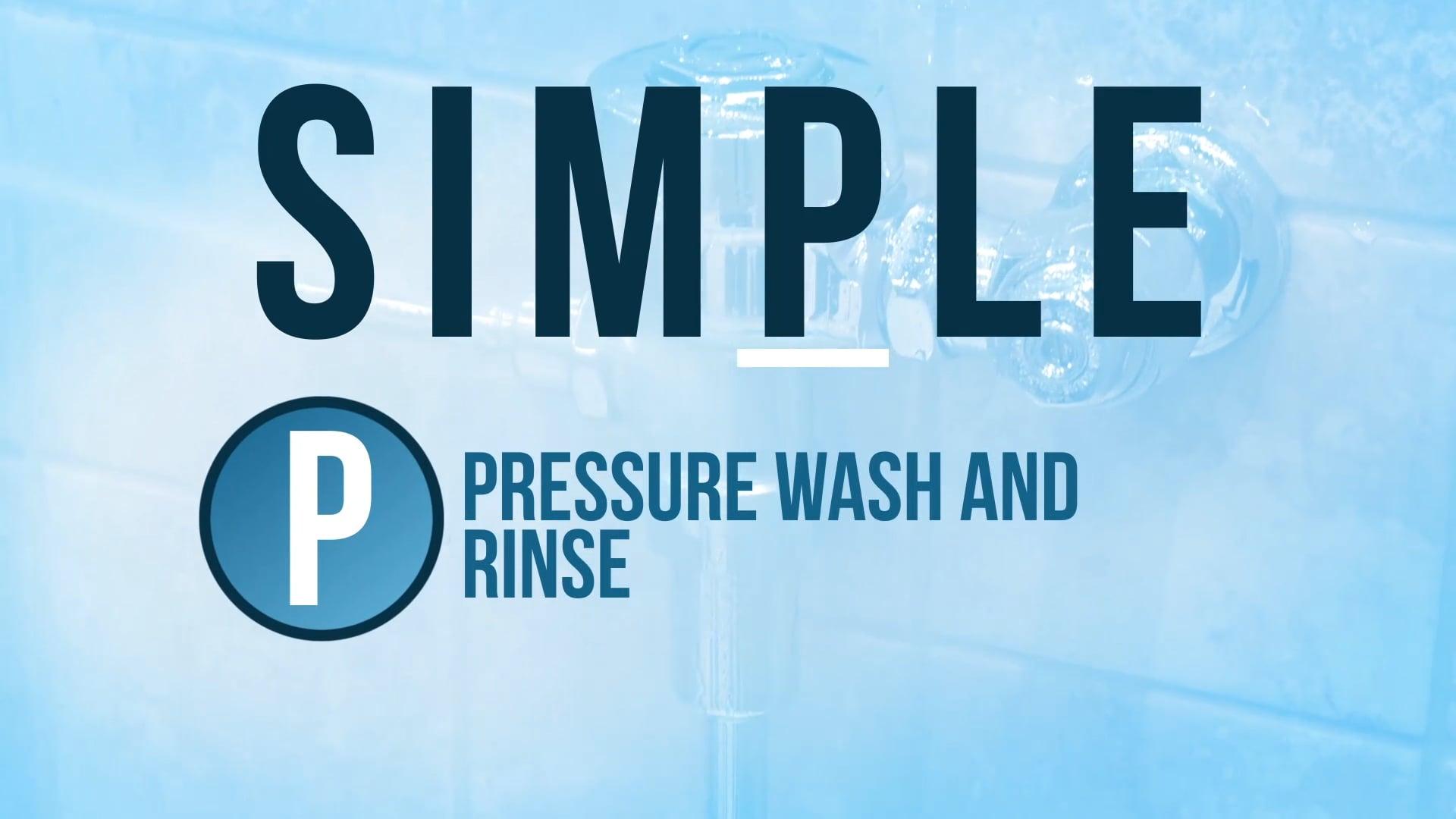 Pressure Rinse