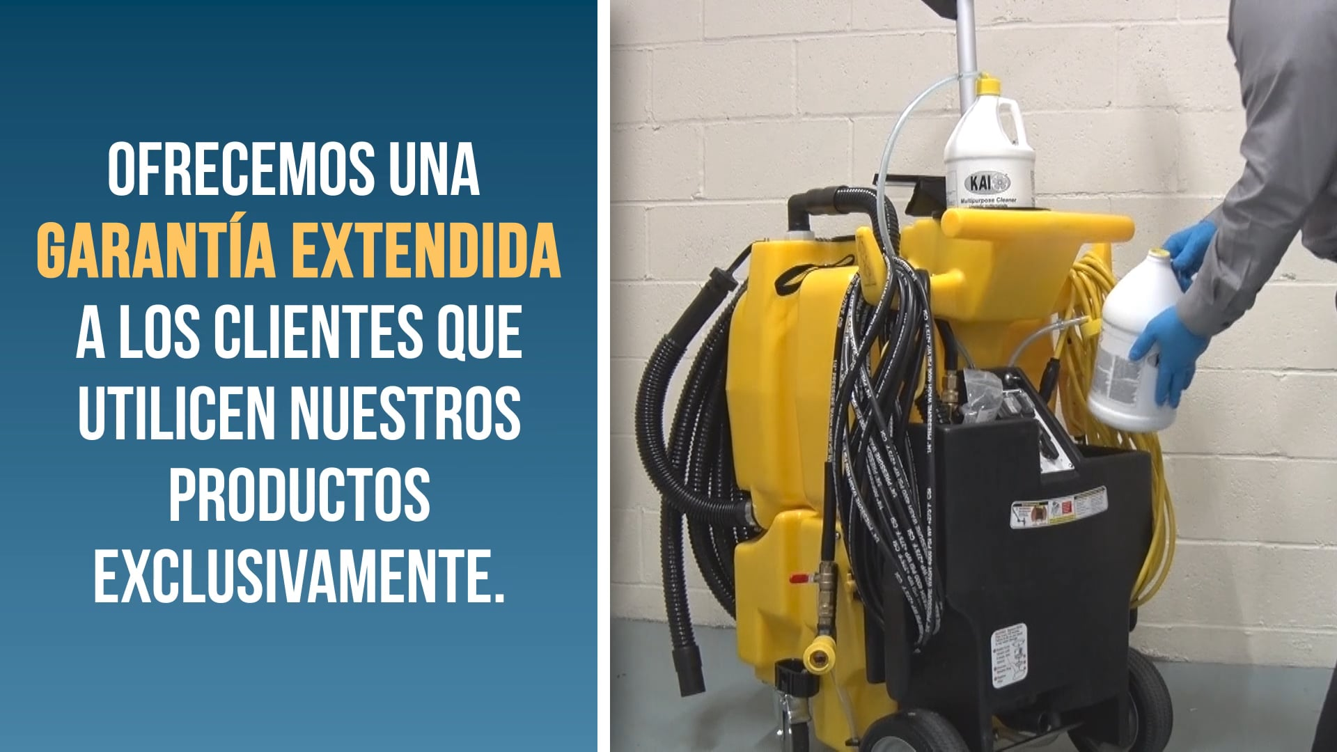 Machine Preparation – Español