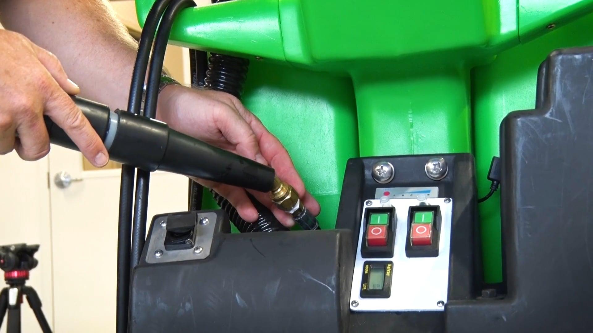 Priming the Cooler Cleaner Pump
