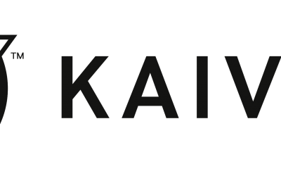 Kaivac Logo – Horizontal – Black