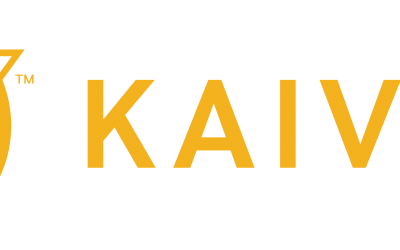 Kaivac Logo – Horizontal – Yellow