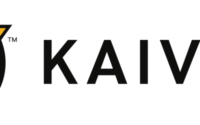 Kaivac Logo – Horizontal – Full Color – Black Text