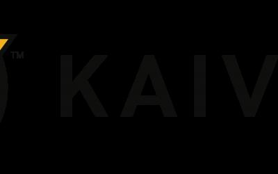 Kaivac Logo – Horizontal – Full Color – Black Text