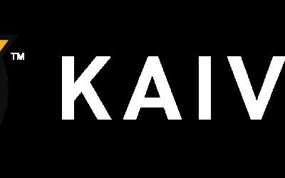 Kaivac Logo – Horizontal – Full Color – White Text