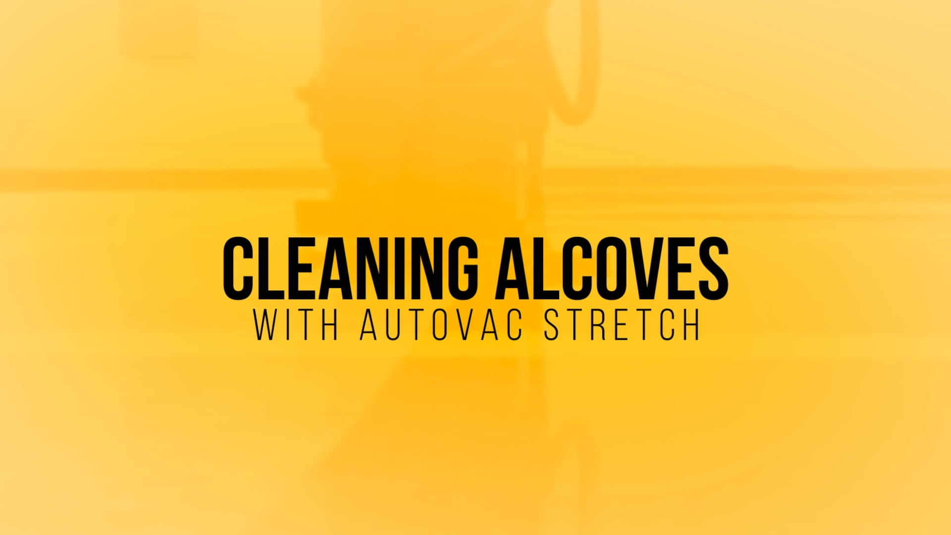 Cleaning an Alcove