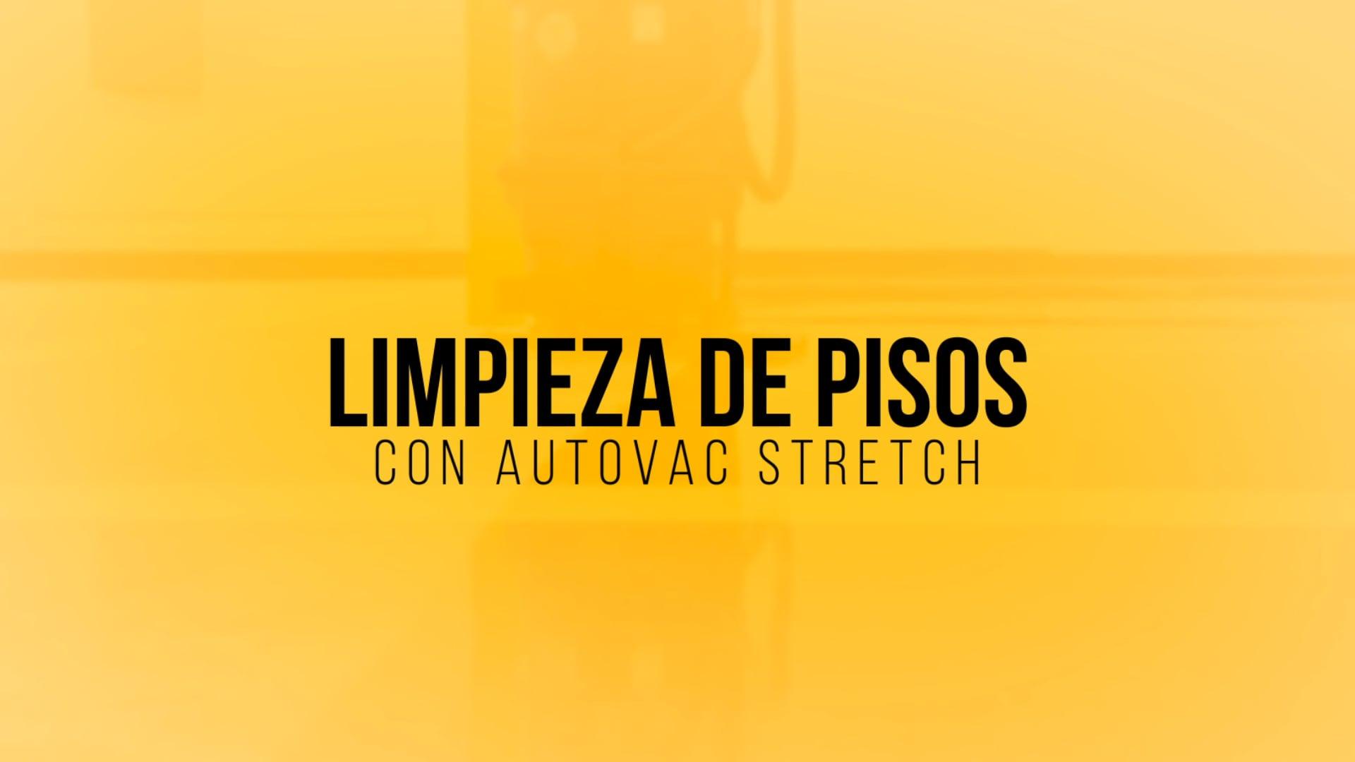 Limpieza de Pisos con AutoVac Stretch