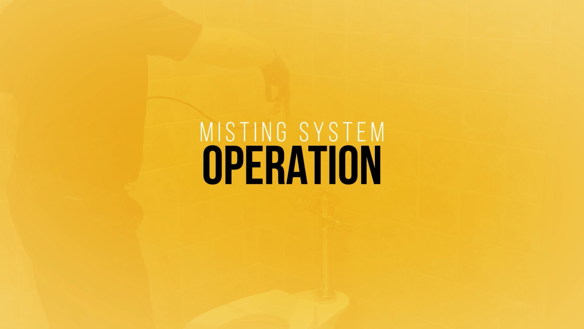 Kaivac Misting System Operation